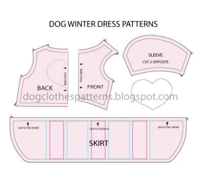 Dog Winter Dress Patterns  Mimi & Tara  Dog Clothes Patterns