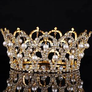 Buy Big European Royal Crown Gold Or