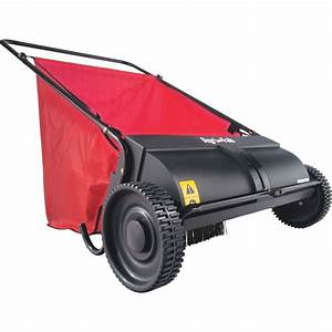 Agri-fab 26 U0026quot  Push Lawn Sweeper - Lawn  U0026 Garden - Tractor Attachments