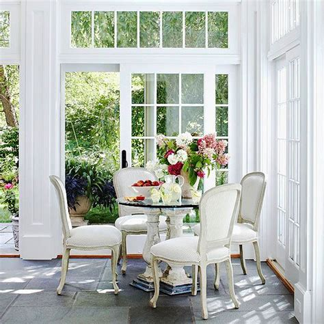 sunroom decorating and design ideas table and chairs