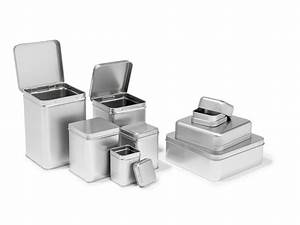 Blechdosen Mit Deckel : wei blechdose quadratisch silber kaufen modulor ~ Yasmunasinghe.com Haus und Dekorationen