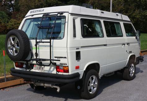 volkswagen vw westfalia pop top camper syncro awd