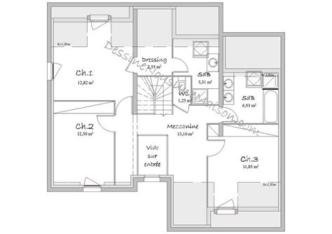 plan maison etage 4 chambres gratuit plans de maisons contemporaines gratuits segu maison
