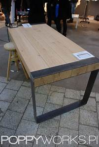 Esstisch Holz Metall Design : die besten 25 esstisch holz metall ideen auf pinterest gartentisch in holz eichenbohlen und ~ Buech-reservation.com Haus und Dekorationen