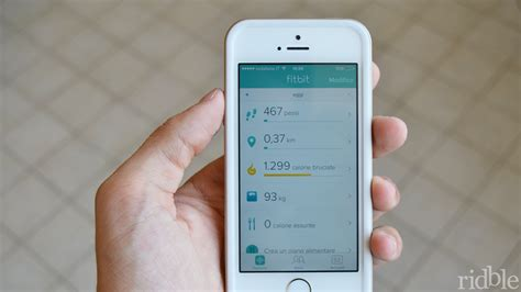 fitbit app for iphone fitbit recensione app per iphone ipod touch e ridble