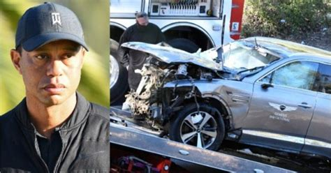 Tiger Woods Reacts After life-Changing Crash