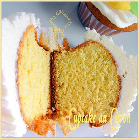 cupcake au citron recettes faciles recettes rapides de