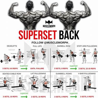 Workout Gym Musclemorph Superset Bodybuilding Workouts Training