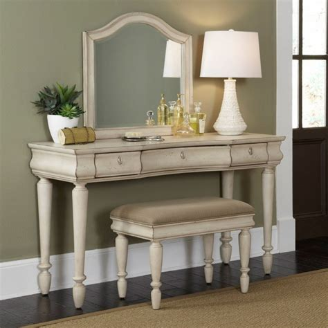 Bedroom Vanity by Rustic Traditions Bedroom Vanity Set Rustic White Bedroom