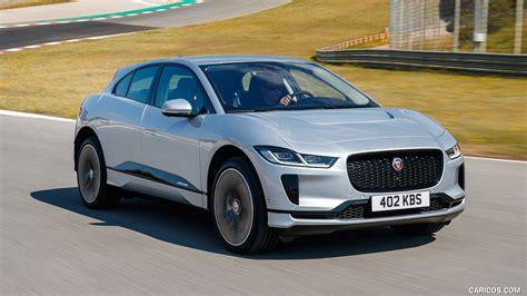 jaguar  pace color indus silver front