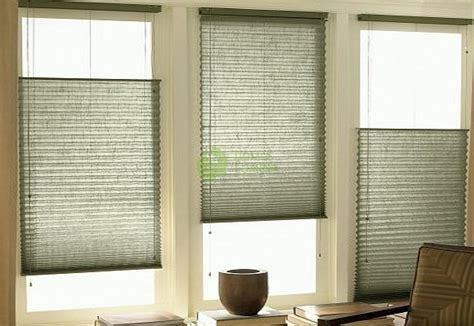Pleated Blinds For Standard Windows, Controlled By String