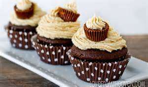 Peanut Butter Chocolate Cupcakes with Buttercream