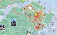 United States Naval Academy Map - United States Naval ...
