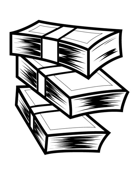 money clipart black and white stack of money cliparts co