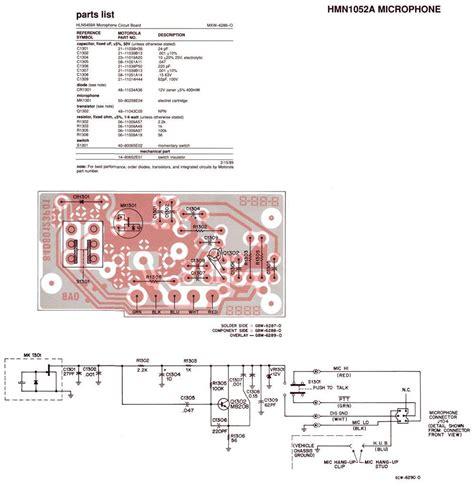 rewire motorola professional mic for cb use worldwidedx radio forum