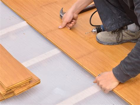 Bamboo Floor Installation Flooring Ideas Installation