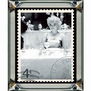 Marilyn Monroe Bilder Schwarz Weiß : marilyn monroe briefmarke iii wandbild foto schwarz wei 40x50 im rahmen spiegelbilderrahmen ~ Bigdaddyawards.com Haus und Dekorationen