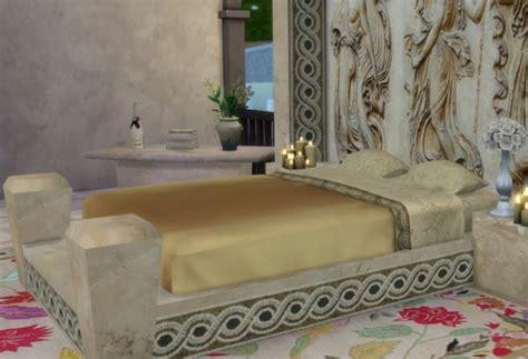 sims  studio  roman collection julius bed sims