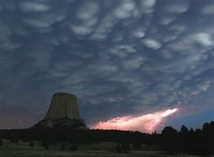 Devils Tower NP – lightning strike MowryJournal com
