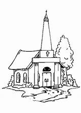 Church Coloring Pages Building Country Drawing Lds Printable Sheets 3d Sketch Seven Getdrawings Getcolorings Tocolor Template sketch template