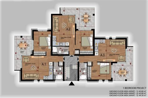 one bedroom floor plan one bedroom elite garden apartment northern cyprus