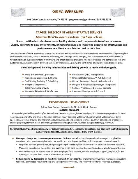 Resume Sample  Career Change