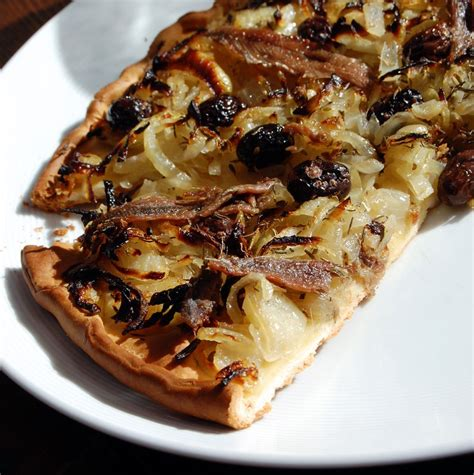 recette cuisine provencale pissaladi 232 re recette de pizza 224 la mode ni 231 oise cuisine