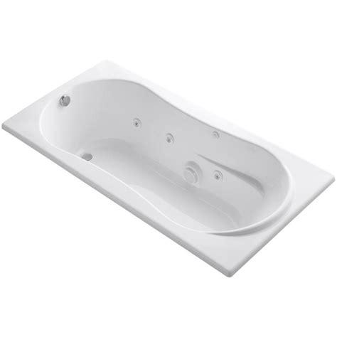 45 ft drop in bathtub kohler 7236 6 ft whirlpool tub with reversible drain in