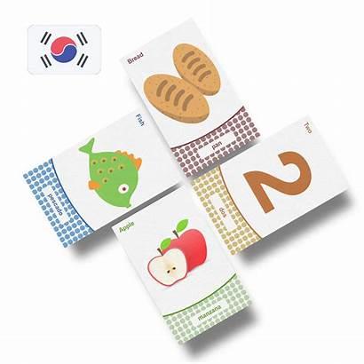 Flashcards Korean Vocabulary Learn