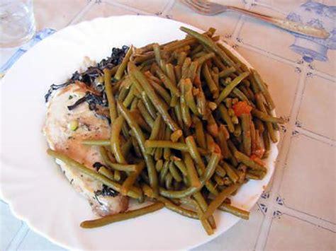 cuisiner haricots verts comment cuisiner haricot vert surgele
