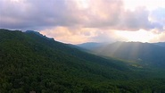 Dueling Drones Aerial Sunset North Carolina Mountains ...