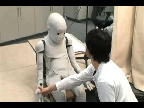 big and the boy robot child robot with biomimetic cb2