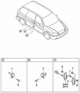2002 Kia Sedona Door Switches