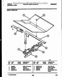 Frigidaire 5303210787 Burner  Oven