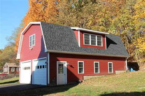 Barns And Garages by Patriot Gambrel Style 1 189 Story Garage The Barn Yard