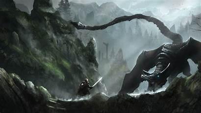 Skyrim 4k Elder Scrolls Rock Wallpapers Background