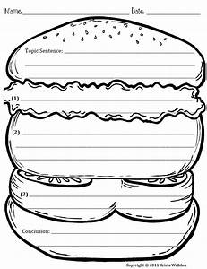 Search results for hamburger paragraph template for Burger writing template