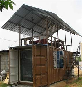 Mobile Living Unit Using Shipping Container