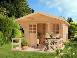 LUOMAN Gartenhaus Lillevilla 265T BxT 300x300 Cm Mit