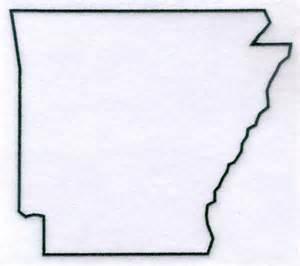 Arkansas State Outline Clip Art