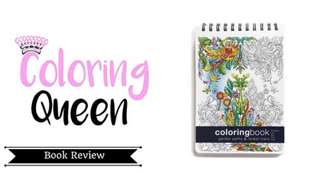 garden paths forest trails coloring book review youtube