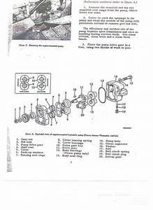 Farmall C Or Super A Hydraulic Pum
