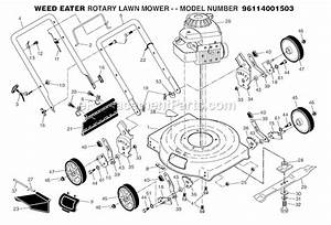Weed Eater 96114001503 Parts List And Diagram