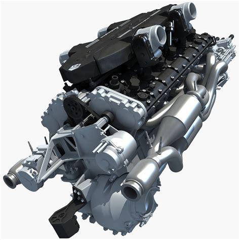 lamborghini v12 engine 3d 6 v12 lamborghini engine