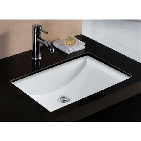 Small White Undermount Bathroom Sink by Sinkware Wl Rtu2216 6 Rhythm Series China Undermount