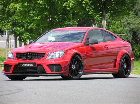 mercedes benz  amg coupe black series  domanig