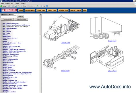 kenworth body parts body shop wiring diagram troubleshooting diagram wiring