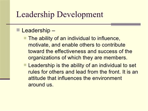 leadership training powerpoint