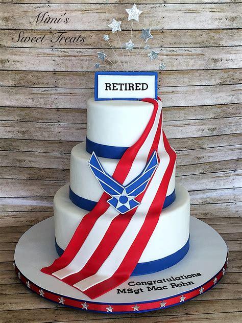 air force retirement cake chris retirement
