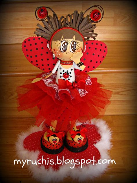 Ladybug Baby Shower Centerpiece Ideas Centros De Mesa
